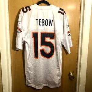 NFL Tim Tebow White Jersey